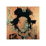 Andy Warhol - Jean-Michel Basquiat, 1982 Digitálně vytištěná reprodukce