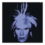 Andy Warhol - Self Portrait, 1986 - Giclee Baskı
