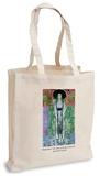 Gustav Klimt - Portrait of Adele Bloch Bauer Tote Bag Tragetasche