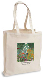Gustav Klimt - Flower Garden Tote Bag Sacs cabas