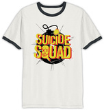 Suicide Squad - Exploding Bomb Ringer T-Shirts