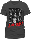 Suicide Squad - Serious Team (Slim Fit) Vêtement