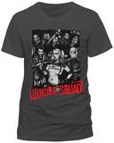 Suicide Squad - Serious Team (Slim Fit) T-Shirt