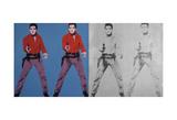 Elvis I and II, 1963-1964 Posters af Andy Warhol