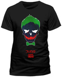 Suicide Squad - Joker Sugar Skull  (Slim Fit) T-Shirts