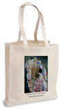 Gustav Klimt - Death and Life (Detail) Tote Bag Handleveske