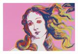 Details of Renaissance Paintings (Sandro Botticelli  Birth of Venus  1482)  1984 (pink)