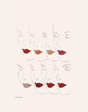 Untitled (Female Faces), c. 1960 Kunstdrucke von Andy Warhol