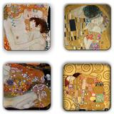 Gustav Klimt Coaster Set 1 Sous-verre