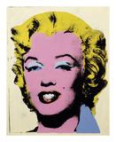 Lemon Marilyn, 1962 Giclée-tryk af Andy Warhol