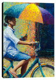 My Thai Sunbrella Stretched Canvas Print by Iris Scott