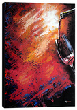 Wine 2 Stretched Canvas Print by Michael Romero