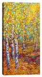 Candyland Stretched Canvas Print by Iris Scott