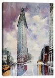 Modern Take Stretched Canvas Print by Michael Romero