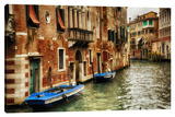 Docked Stretched Canvas Print by Dano