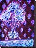 Flower Cup Impressão em tela esticada por Paula Mills