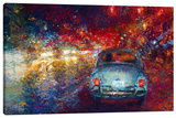 Becca's Bug Stretched Canvas Print by Iris Scott