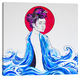 Yume Stretched Canvas Print by Marc Allante