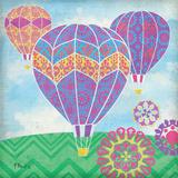Fantasy Balloons II Art by Brent Paul
