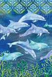 Dolphin Escape II Prints by Brent Paul