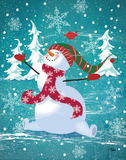 Frosty & Fab III Posters by Woo Teresa