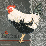 French Rooster II Prints by Gwendolyn Babbitt
