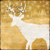 Gold Holiday II Prints by Paul Brent