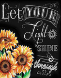 Chalkboard Inspirations III Prints by Donna Knold