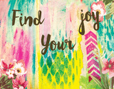 Find Your Joy Poster by Belinda Dworak