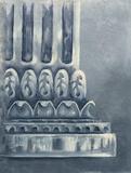 Grey Column II Art by Margaret Ferry
