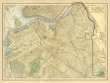 Brooklyn Map Posters by Babbitt Gwendolyn