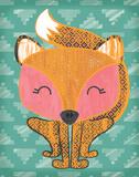 Foxtastic Poster by Ashley Sta Teresa