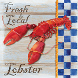 Chesapeake Lobster Poster by Paul Brent