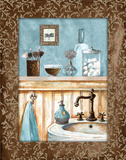 Blue Bath III Prints by Gorham Gregory