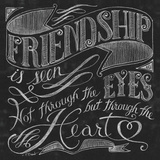 Friendship is Seen Print by Brent Paul