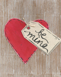 Be Mine Art by Monica Martin