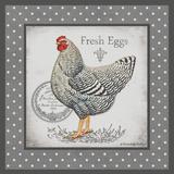 Farm Fresh Eggs II Poster by Babbitt Gwendolyn