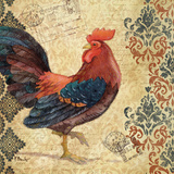 Gourmet Rooster I Poster by Paul Brent