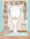 Bathroom Elegance II Prints by Laurencon