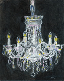 Chandelier I Posters by Palanuk-Wilson Denice