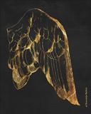 Gold Wing II Art by Gwendolyn Babbitt