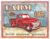 Farm to Table I Prints by Catherine Jones