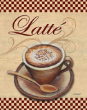Cafe Latte Poster by Williams Todd