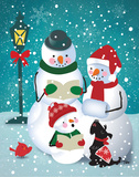 Frosty & Fab V Prints by Teresa Woo