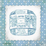 French Soap Blue II Prints by Gwendolyn Babbitt