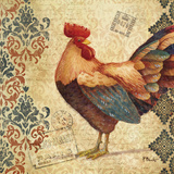 Gourmet Rooster IV Prints by Paul Brent