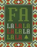 Fa La La La La Prints by Ashley Sta Teresa
