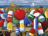 Buoy Composition Prints by Paul Brent