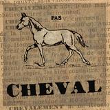 Cheval Kunstdrucke von Lisa Ven Vertloh