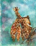 Giraffes Posters by Palanuk-Wilson Denice